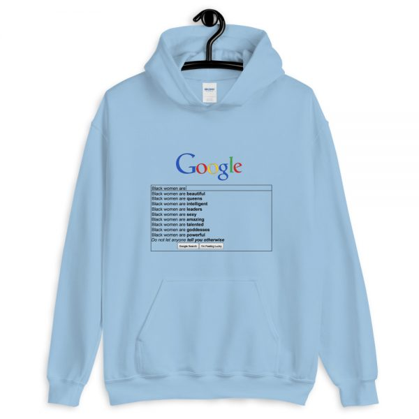 Google black women are search Unisex Hoodie