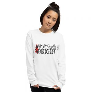 Merry And Bright Long Sleeve T Shirt
