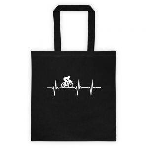 mockup 7e729b9a 300x300 - Bicycle heart beat Tote bag