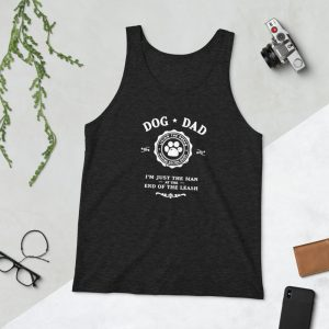 mockup 80ad6563 300x300 - Dog Dad I'm Just The Man at the End of the Leash Unisex Tank Top