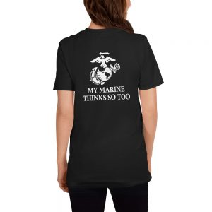 mockup 8848abf1 300x300 - Does My Butt Look Good My Marine Thinks So To Unisex T Shirt