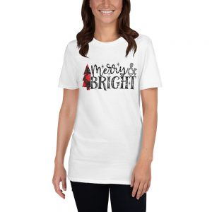 Merry And Bright Unisex T Shirt