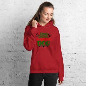 Dear santa it was the dog Unisex Hoodie