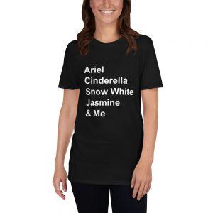 mockup ad3bbeaa 300x300 - Disney princess quote Short-Sleeve Unisex T Shirt