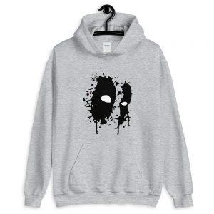 Black Mask Unisex Hoodie