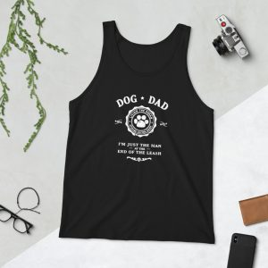 mockup b950a829 300x300 - Dog Dad I'm Just The Man at the End of the Leash Unisex Tank Top