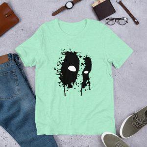 Black Mask Unisex T Shirt