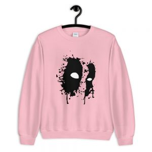 Black Mask Unisex Sweatshirt