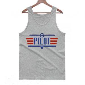 Airplane Pilot Wingman Tanktop