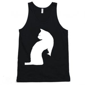 Black Cat White Cat TankTop