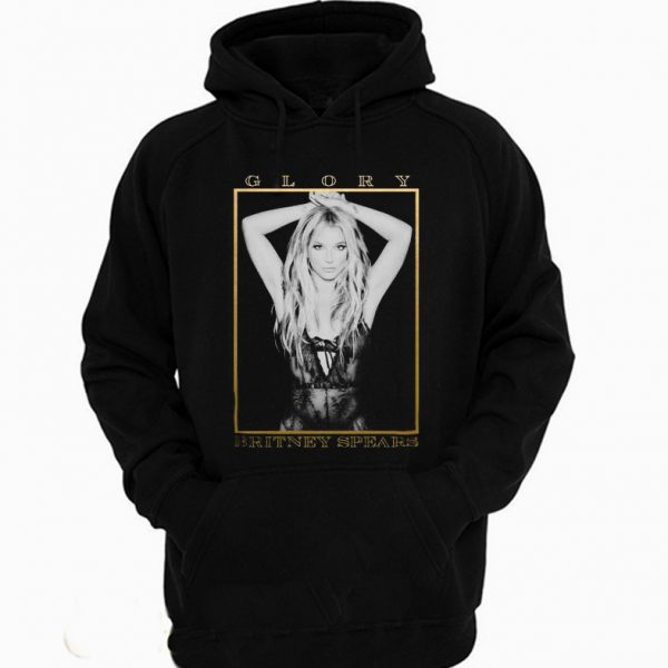 Britney Spears Glory gold cover Hoodie