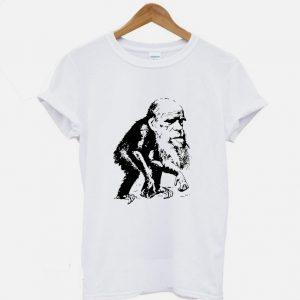Charles Darwin Ape Funny Evolution T shirt 300x300 - Home