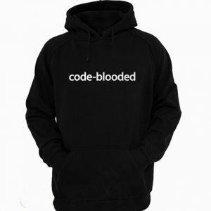 Code Blooded Funny Code Programmer IT Hoodie