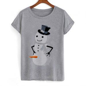 Dirty Snowman Ugly Christmas T-shirt