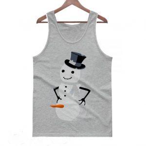 Dirty Snowman Ugly Christmas Tanktop