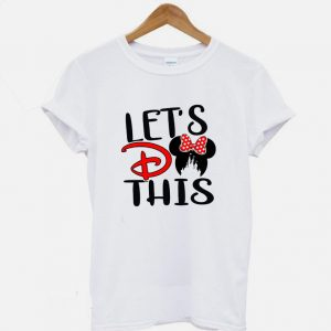 Lets Do This Miny mouse T shirt 300x300 - Home