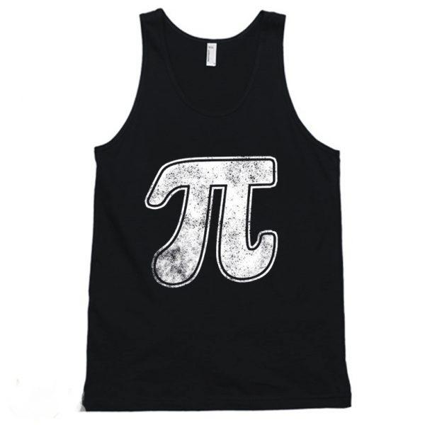 Pi Symbol Math Teacher Tanktop