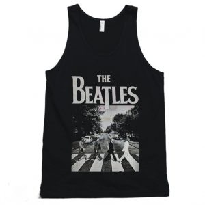 The Beatles 'Abbey Road' 60's Tanktop