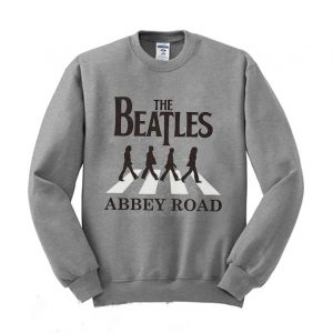 The Beatles Abbey Road Graphic Sweatshirt 300x300 - Home