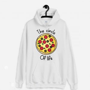 The Circle Of Life Pizza Lover Hoodie