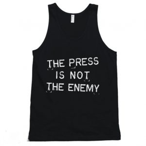 The Press Is Not Enemy Journalism Reporter Tanktop 300x300 - Home