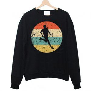 Vintage colorfull Runner Sweatshirt