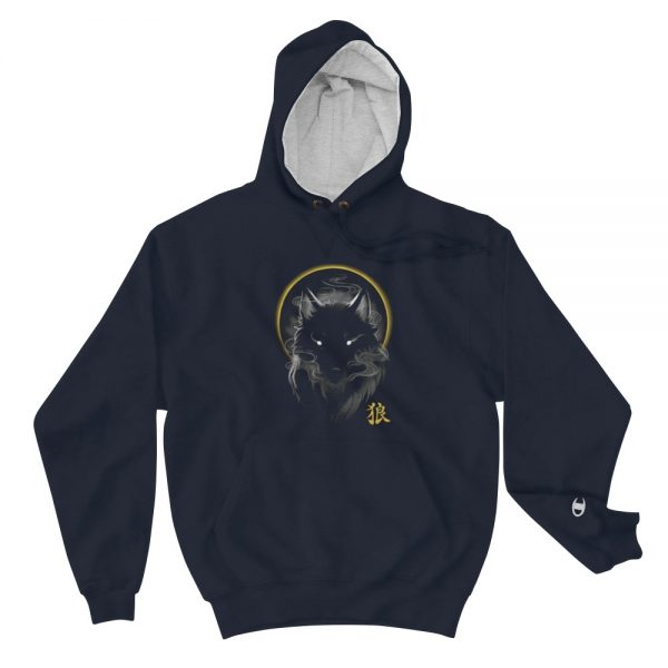 Fox Face Champion Hoodie