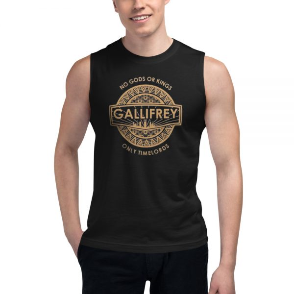 No Gods Or Kings only Timelords Muscle Shirt