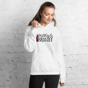 Merry And Bright Unisex Hoodie