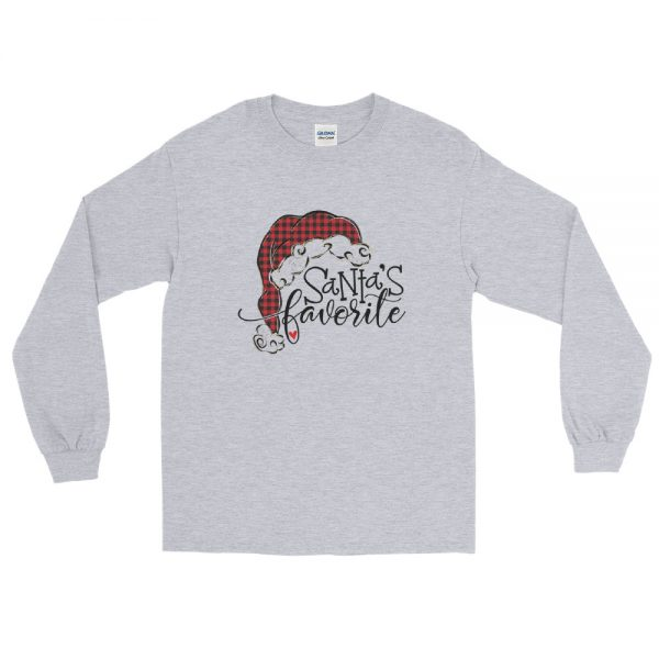 Santas Favorite Long Sleeve T Shirt