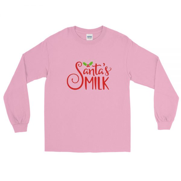 Santas Milk Long Sleeve T Shirt