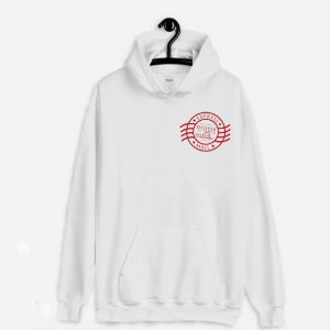 Christmas Holiday Express Mail Stamp Hoodie