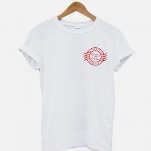 Christmas Holiday Express Mail Stamp T-Shirt