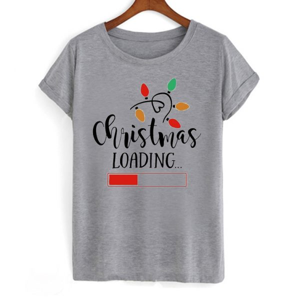 Christmas Loading T Shirt