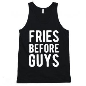 Fries before guys Funny Tanktop
