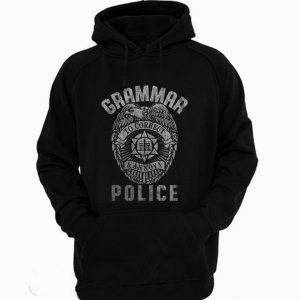 Grammar Police Funny Joke Quotes Teacher Hoodie