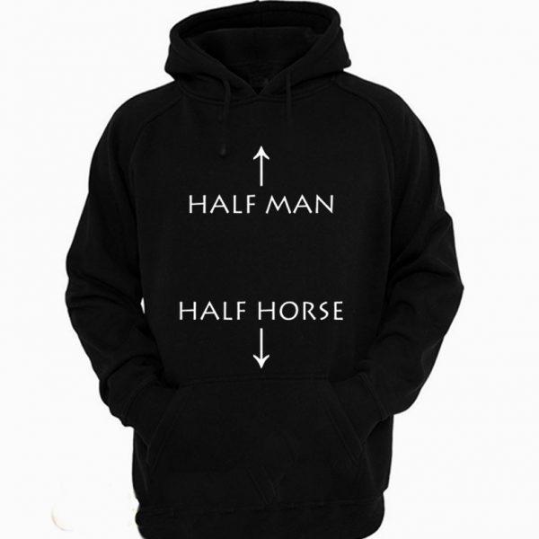 Half Man Half Horse Funny Hoodie