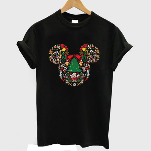 Mikey mouse Disney Christmas T shirt