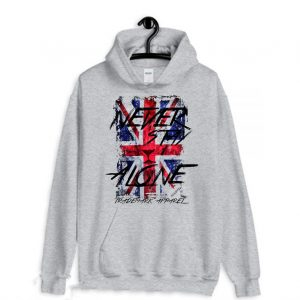 Never Stay Alone Trademark Apparel Hoodie