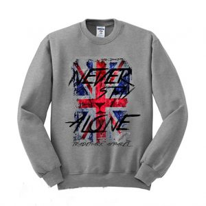 Never Stay Alone Trademark Apparel Sweatshirt 300x300 - Home