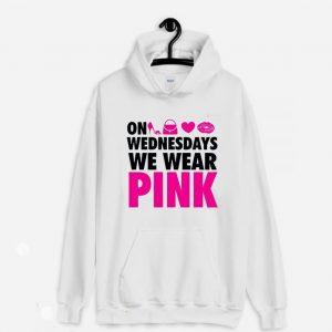 On Wednesdays We Wear Pink Hoodie
