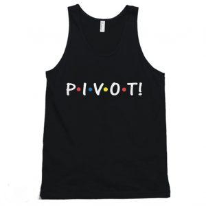 Pivot Ross Geller TV Show Tanktop