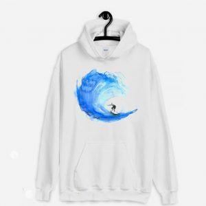 Surf Watercolor Hoodie