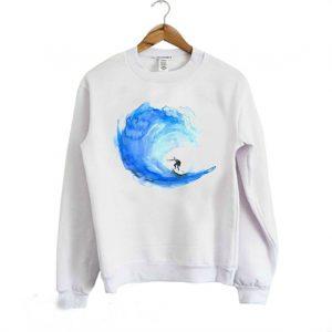Surf Watercolor Sweatshirt