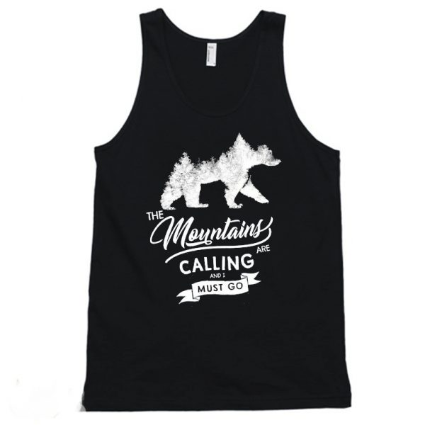 The Mountains are calling Tanktop