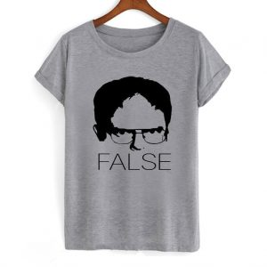 The Office Dwight Schrute False T-Shirt