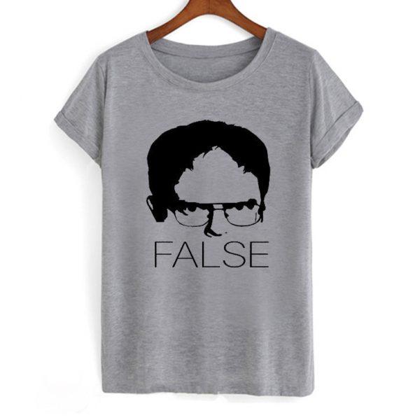 The Office Dwight Schrute False T Shirt