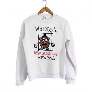 Wanted Mr Potato Head Toy Story Sweatshirt 300x300 - Home