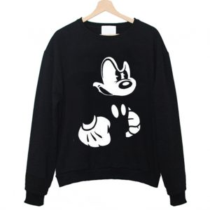 Angry Mickey Sweatshirt