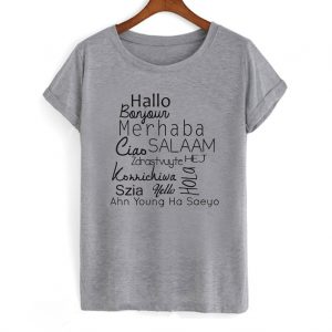 World Languages Hello T Shirt 300x300 - Home
